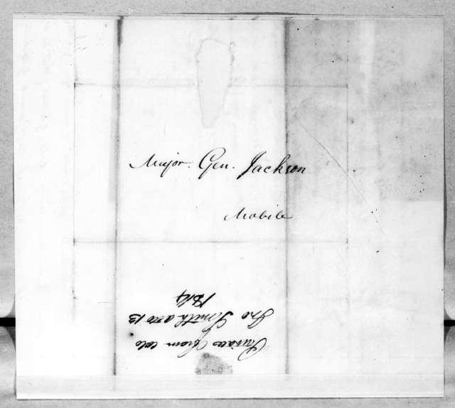 John Smith to Andrew Jackson, October 13, 1814