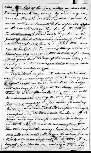 John Strother to Andrew Jackson, February 20, 1814