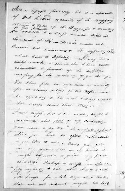 Joshua Haskell to Andrew Jackson, March 2, 1814