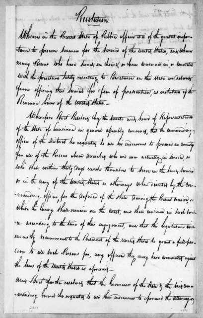Louisiana Legislature, December 14, 1814