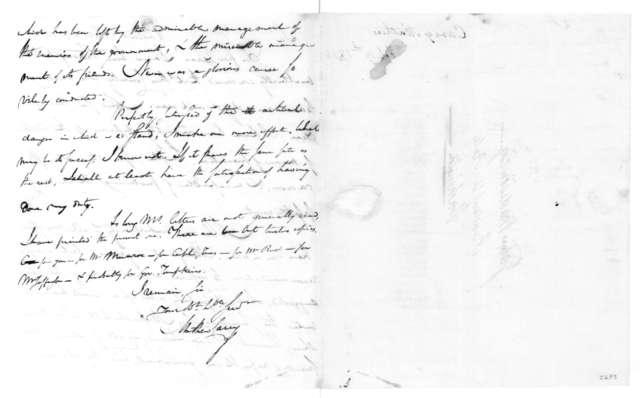 Mathew Carey to James Madison, February 19, 1814.