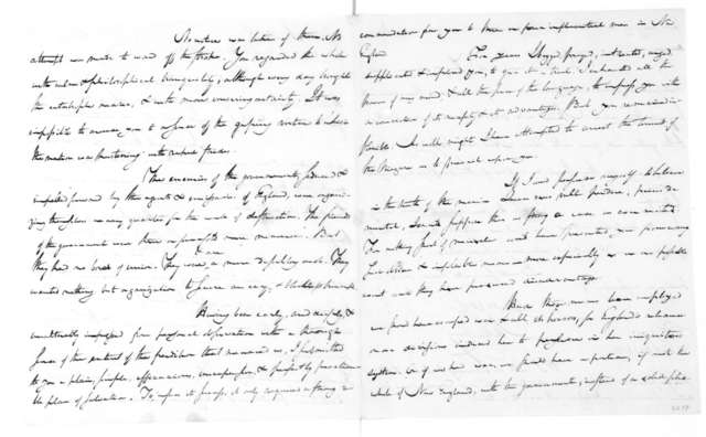 Mathew Carey to James Madison, October 30, 1814. Includes the Constitution of the Washington Union Society.