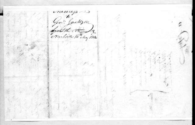 Nashville Citizens to Andrew Jackson, May 14, 1814