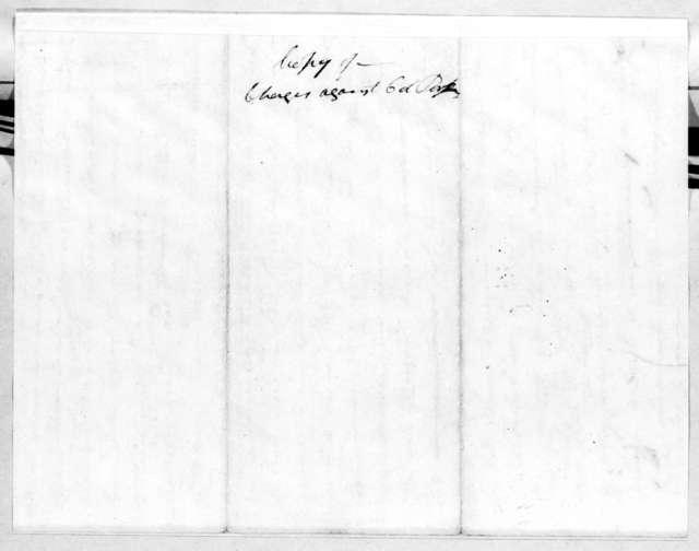 Nicholas T. Perkins, January 7, 1814