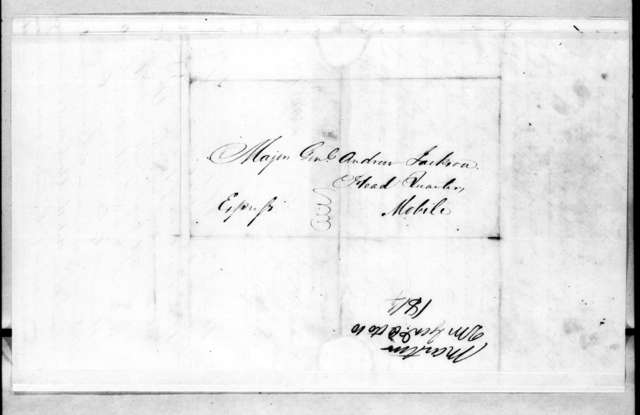 Patrick H. Martin to Andrew Jackson, October 10, 1814