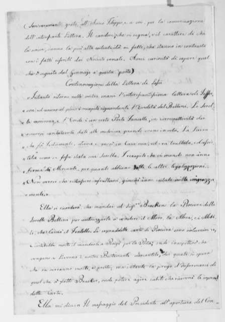Philip Mazzei to Thomas Jefferson, September 18, 1814, in Italian