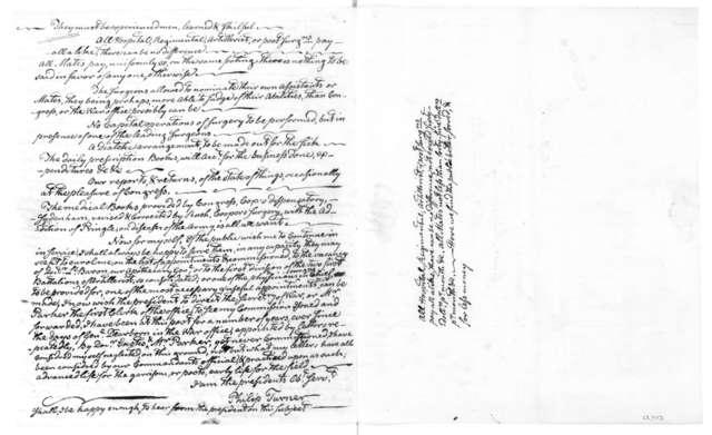 Philip Turner to James Madison, June 27, 1814.