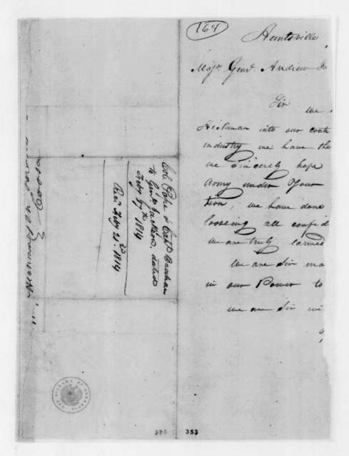 Pope & Brahan to Andrew Jackson