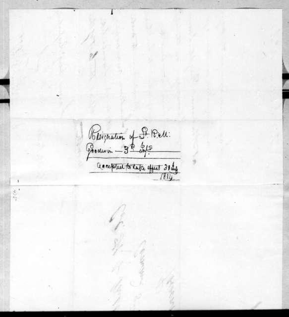 Robert M. Goodwin to Homer Virgil Milton, July 14, 1814