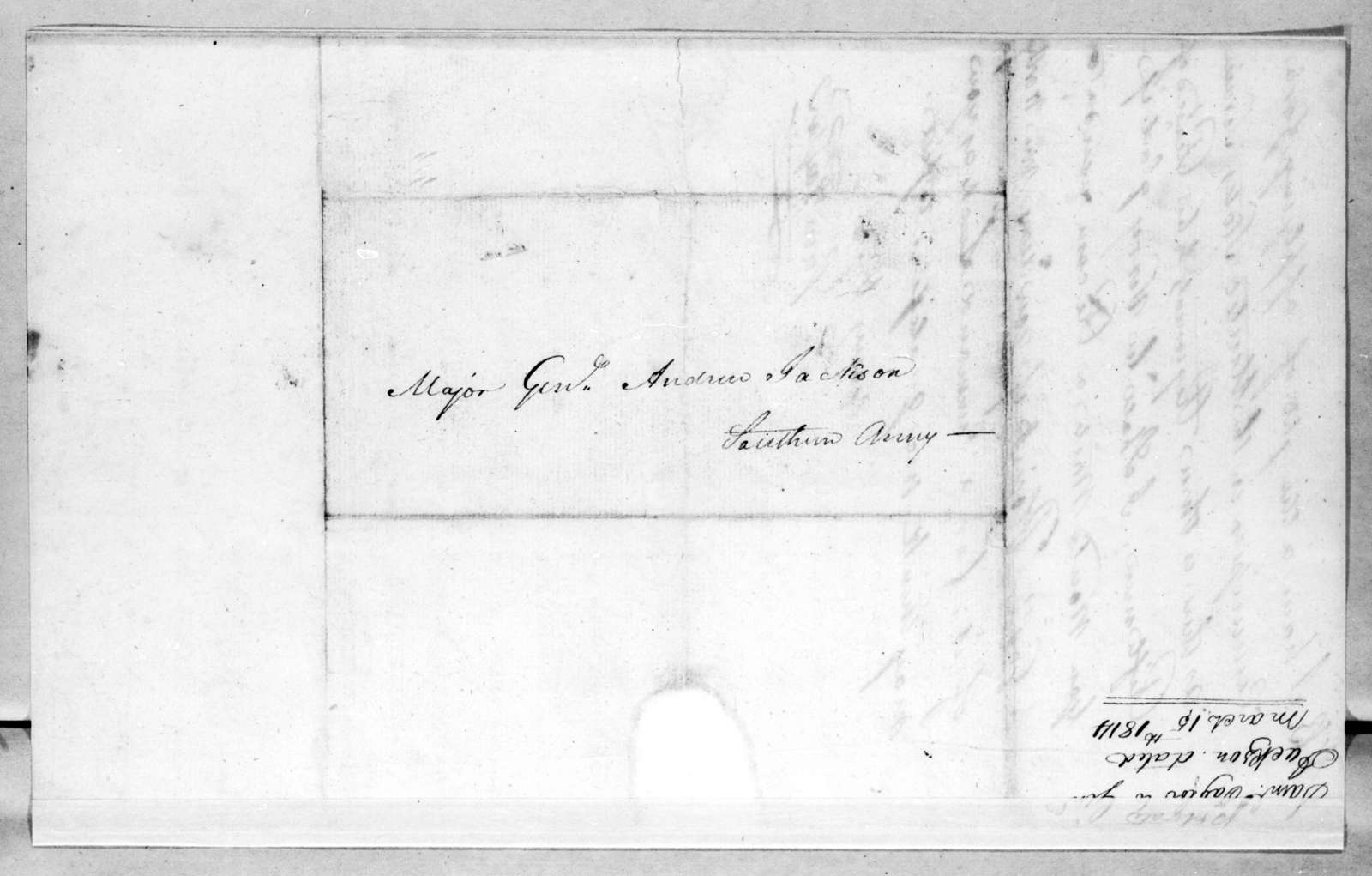 Samuel Taylor to Andrew Jackson, March 15, 1814