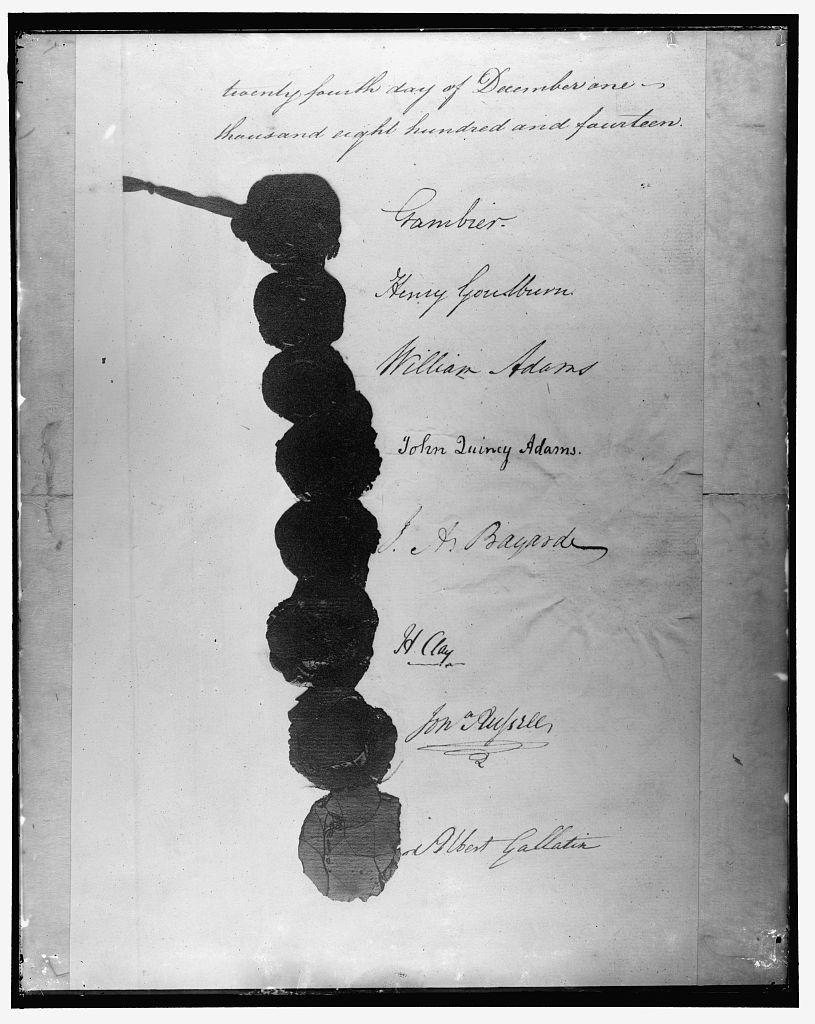 [Signatures, Treaty of Ghent, December 24, 1814]