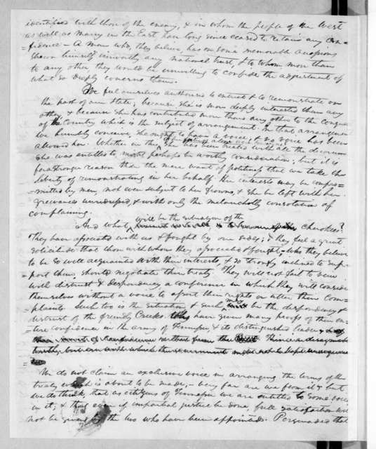 Tennessee Officers to George Washington Campbell, April 18, 1814