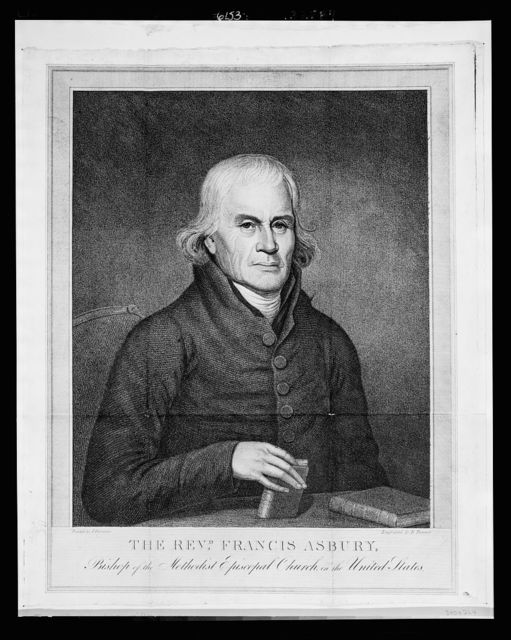 The Revd. Francis Asbury, Bishop of the Methodist Episcopal Church in the United States / painted by J. Paradise ; engraved by B. Tanner.