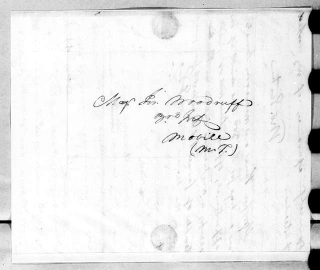 Thomas Eastin to Joseph Woodruff, September 6, 1814