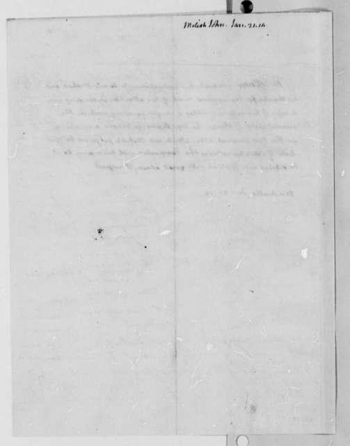 Thomas Jefferson to John Melish, January 21, 1814