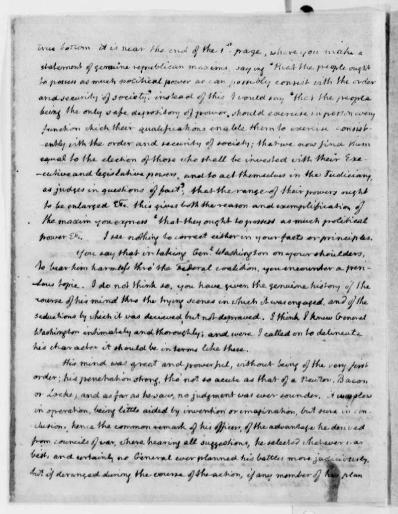 Thomas Jefferson to Walter Jones, January 2, 1814
