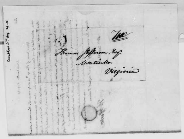 Thomas Jefferson to William Caruthers, August 29, 1814