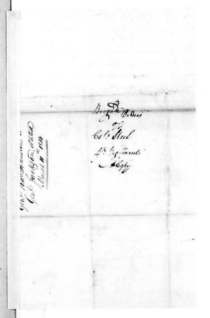 Thomas Johnson to Robert Steele, March 11, 1814