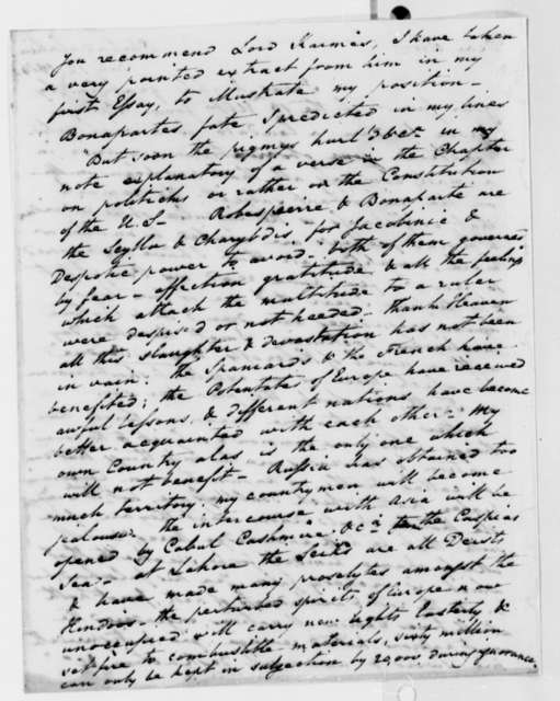 Thomas Law to Thomas Jefferson, July 12, 1814