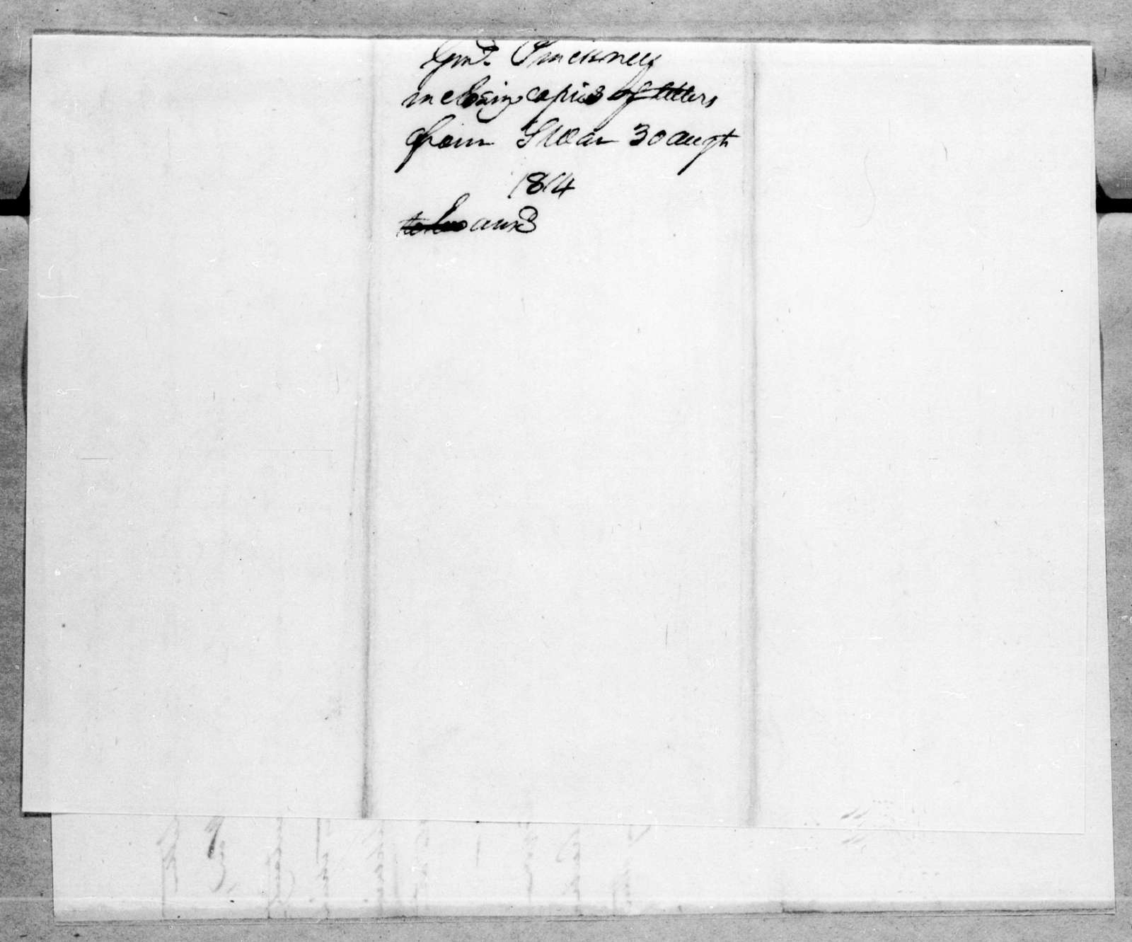 Thomas Pinckney to Andrew Jackson, August 30, 1814