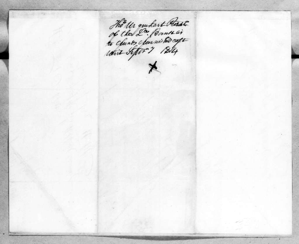 Thomas Urquhart to Andrew Jackson, September 7, 1814