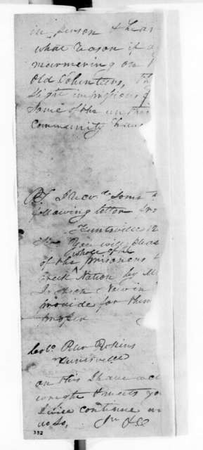 Unknown to Peter Perkins, January 14, 1814