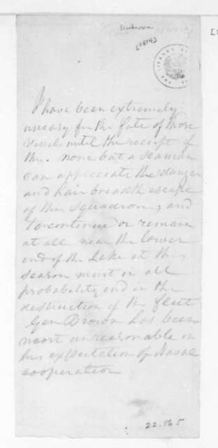 Unknown to Unknown. Notes. 1814.