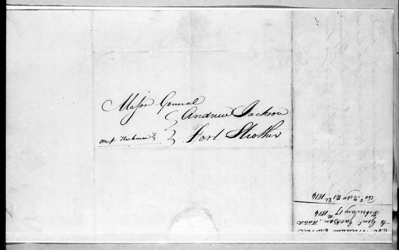 William Carroll to Andrew Jackson, February 17, 1814