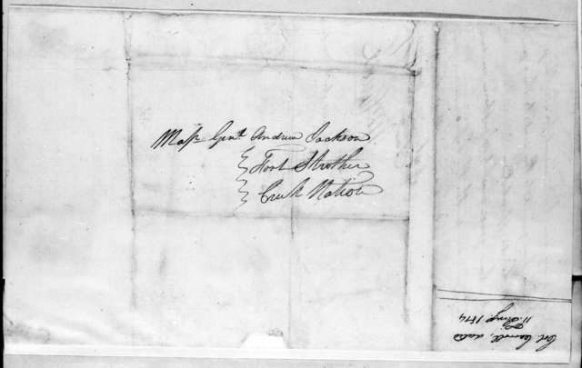 William Carroll to Andrew Jackson, January 11, 1814