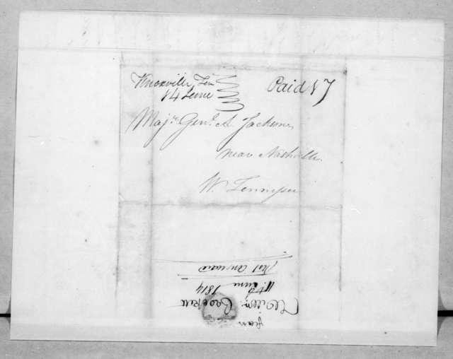 William Crockett to Andrew Jackson, June 11, 1814
