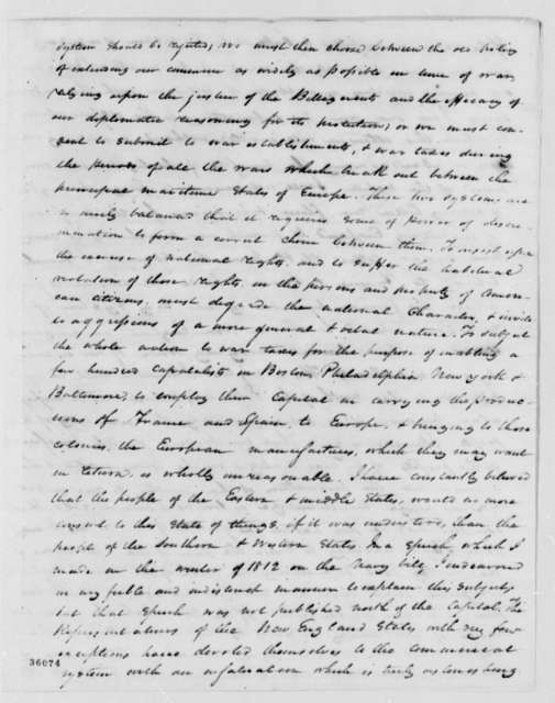 William H. Crawford to Jonathan Fisk, December 8, 1814