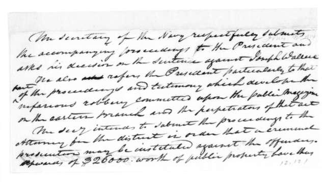 William Jones to James Madison, July 26, 1814.