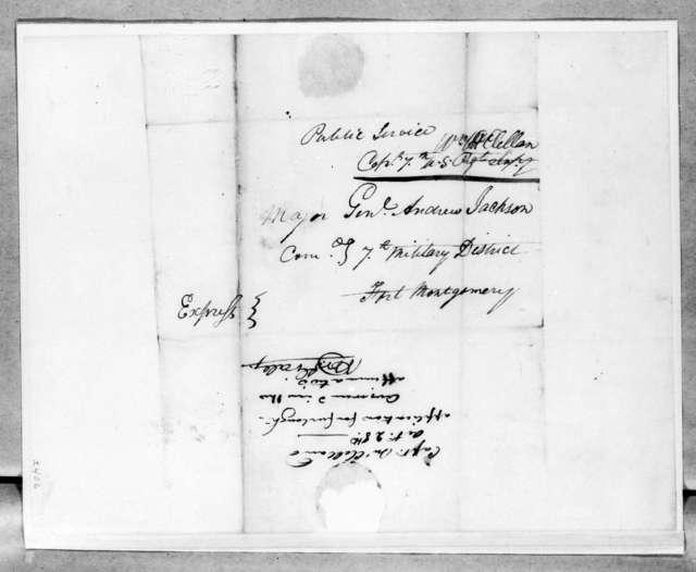 William McClellan to Andrew Jackson, October 28, 1814