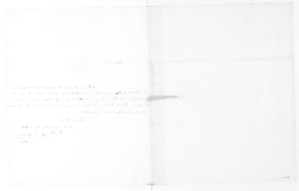 Alexander J. Dallas to James Madison, May 9, 1815.