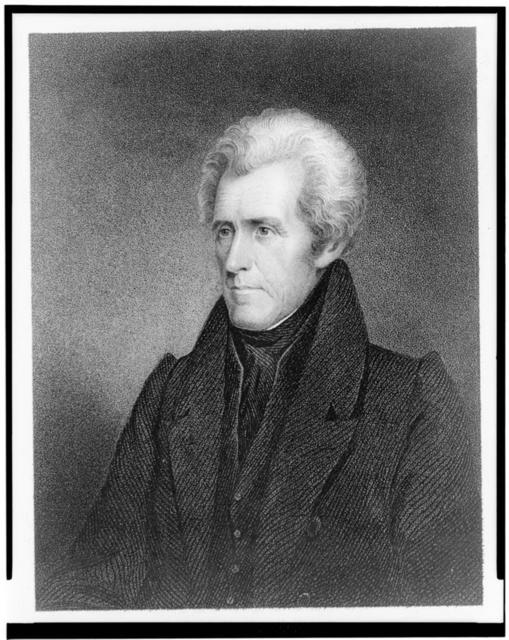 Andrew Jackson / drawn from life and engraved by J.B. Longacre.
