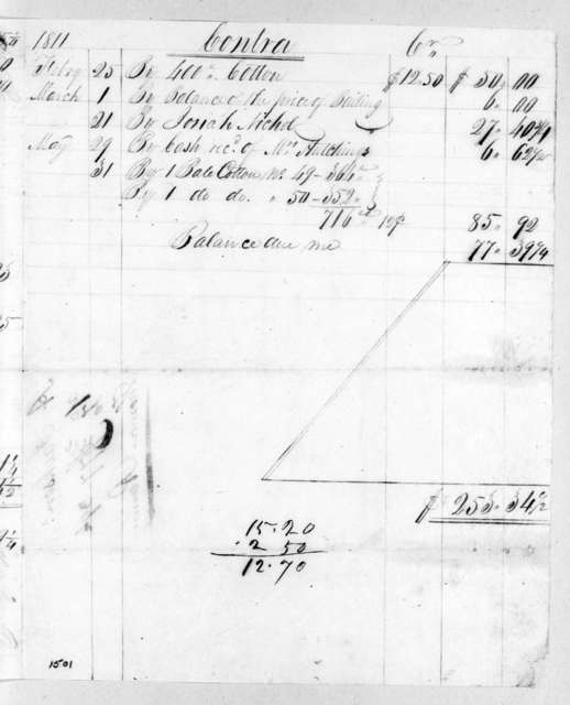 Andrew Jackson to Thomas Ramsey, January 16, 1815