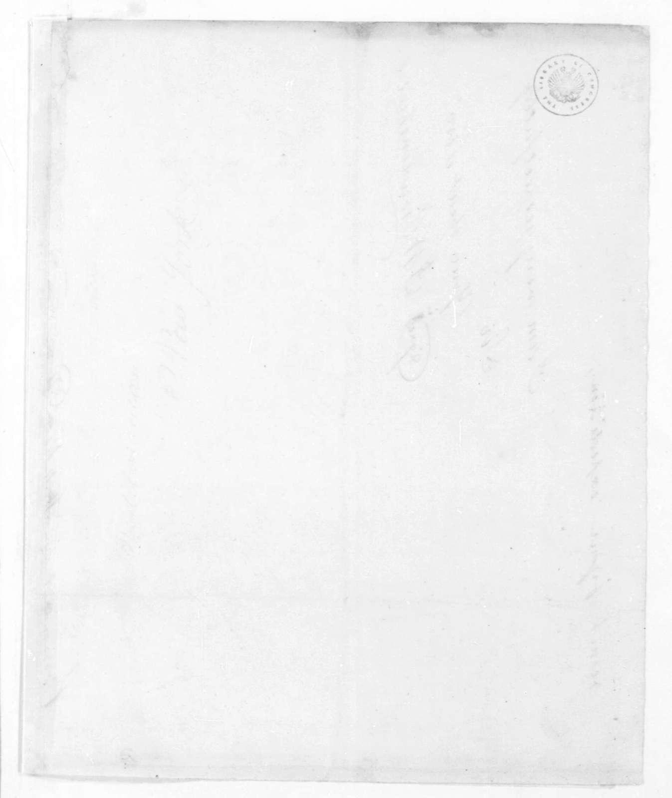 Benjamin W. Crowninshield to Stephen Decatur, April 15, 1815. Military Orders.
