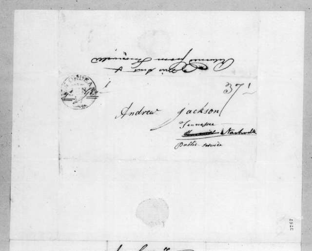 Carter Tarrant to Andrew Jackson, June 17, 1815