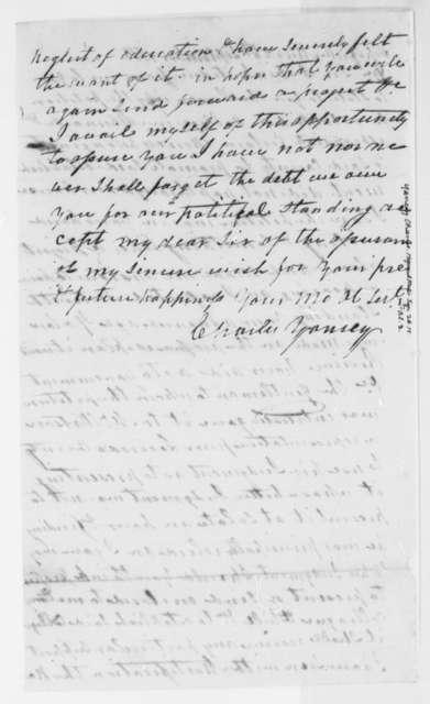 Charles Yancey to Thomas Jefferson, September 26, 1815