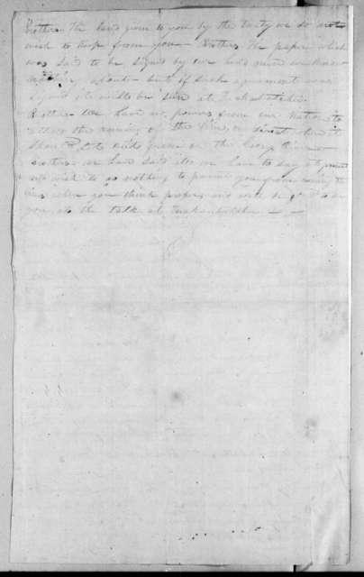 Chiefs of the Creek Nation to United States Commissioners, July 21, 1815