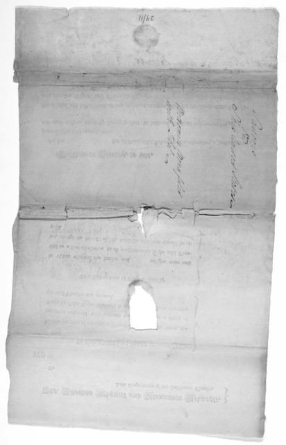 Drs. Thomas Wignell and Alexander Reinagle. Late proprietors of the Baltimore theatre. To [blank] To cash advanced as a loan by [blank] for the purpose of erecting a theatre in Baltimore town, the payment whereof with interest was secured by a d