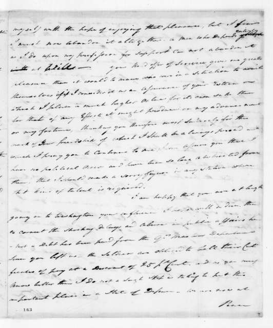 Edward Livingston to Andrew Jackson, September 15, 1815