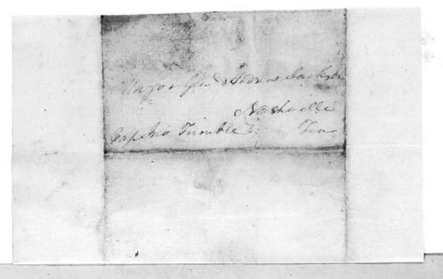 Enoch Parsons to Andrew Jackson, June 17, 1815