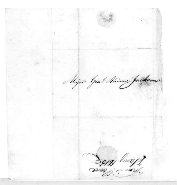 Francis L. Coxe to Andrew Jackson, January 7, 1815