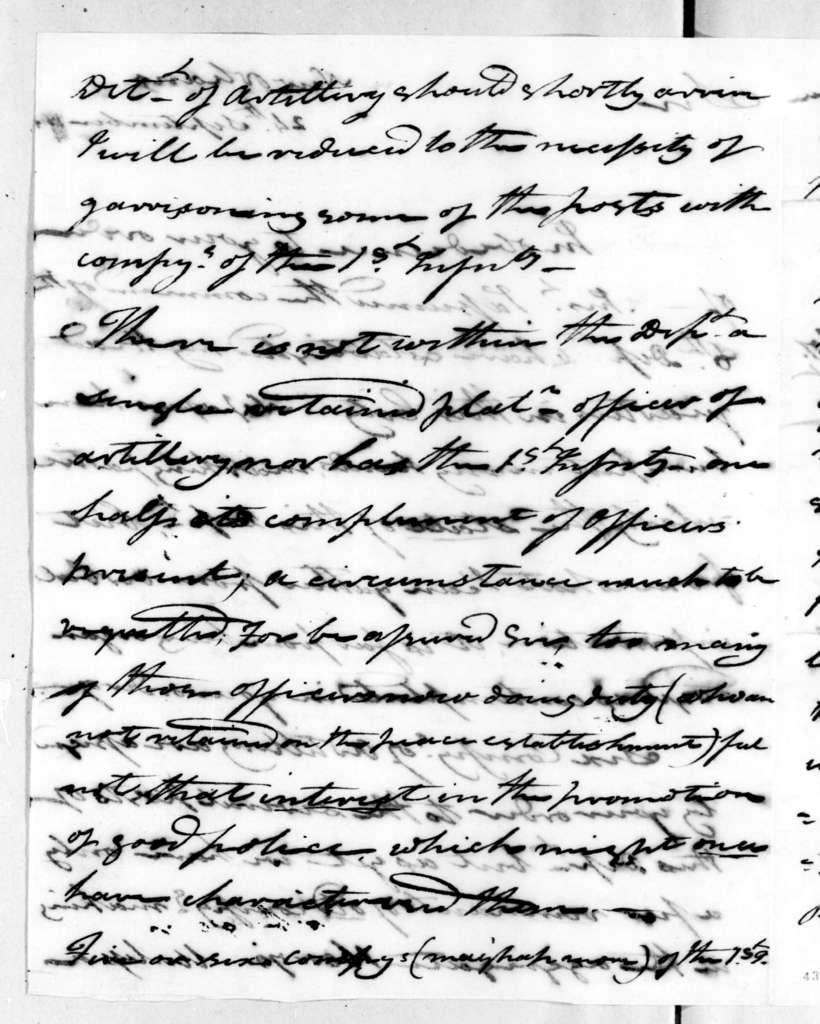 George Croghan to Andrew Jackson, September 24, 1815
