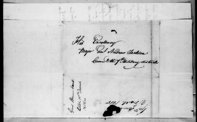 Jean Joseph Amable Humbert to Andrew Jackson, March 9, 1815