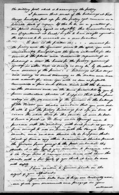 John Mason to George C. Sibley, July 30, 1815
