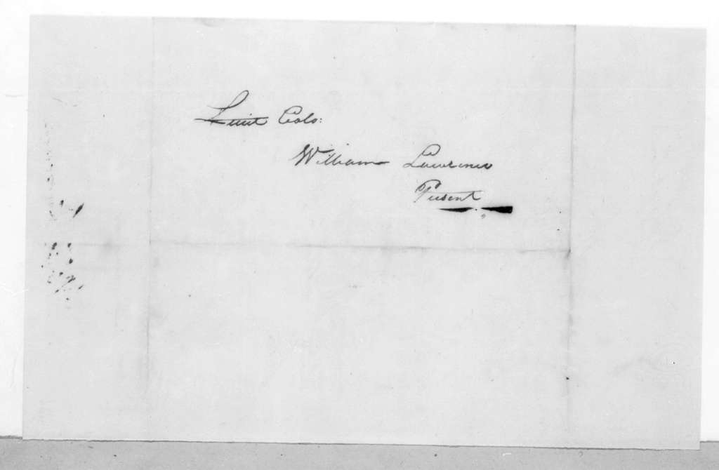 John Miller to William Lawrence, March 24, 1815