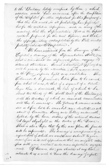John P. Van Ness to James Madison, May 16, 1815. Signed by Tench Ringgold, Richard Brand Lee.
