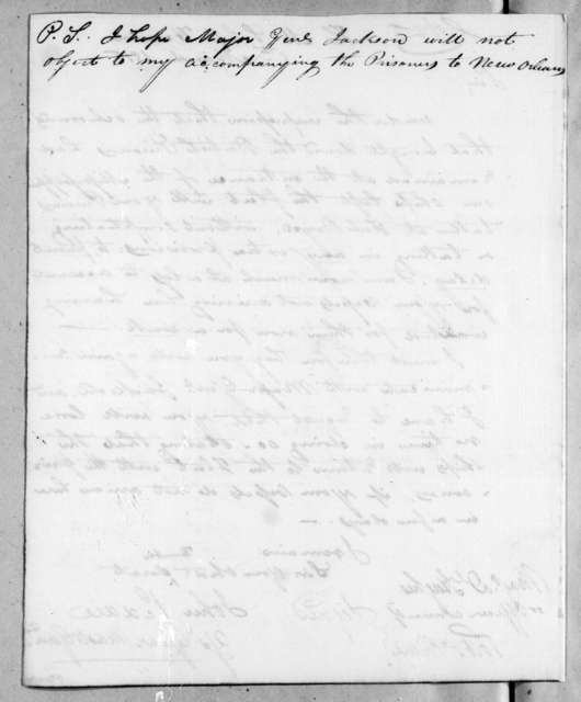 John Peddie to Daniel Hughes, March 8, 1815